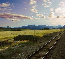 Somewhere after the Rockies  by vkatelynng