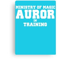 Auror in Training Canvas Print