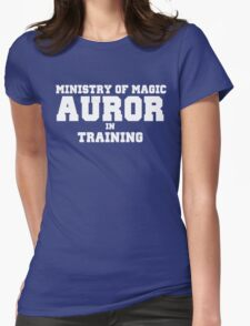 Auror in Training Womens Fitted T-Shirt