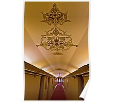 The Amazing Abbasi Hotel - Corridor - Esfahan - Iran Poster