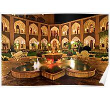 The Amazing Abbasi Hotel - Isfahan - Iran Poster