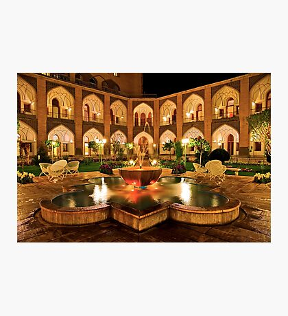The Amazing Abbasi Hotel - Isfahan - Iran Photographic Print