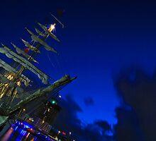 Europa Tall Ship by blueguitarman
