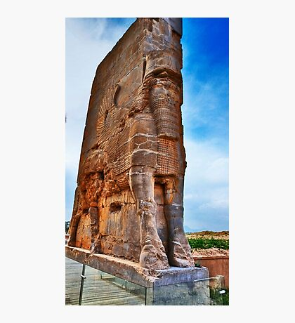 Palace Entrance - Persepolis - Iran Photographic Print