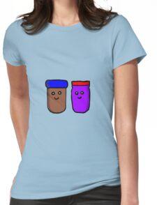 PB&J Womens Fitted T-Shirt