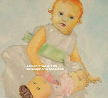 Baby Portrait by Allison  Prior