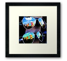 Goggles - Camden Markets - London - England Framed Print