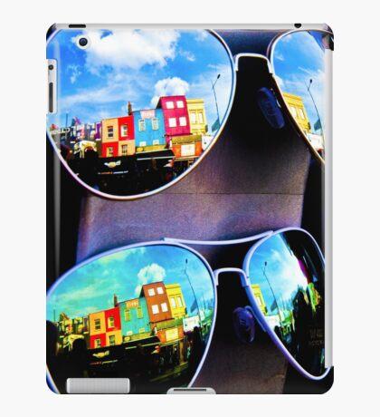Goggles - Camden Markets - London - England iPad Case/Skin
