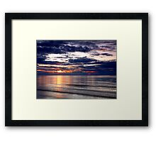 Lossiemouth Reflection Framed Print