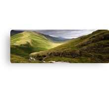 Moss Force in the English Lake District. Canvas Print
