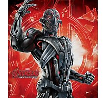 Ultron The Avengers Enemy by greylock