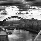 Newcastle skyline by shakey