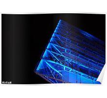 09278 Blue Lights 11 01 Poster