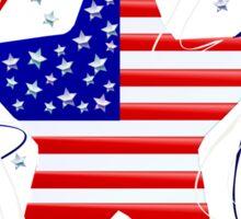 The American Star Designed Sticker