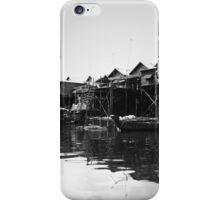 Tonle Sap floating villages iPhone Case/Skin