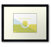 Pineapple PC Framed Print