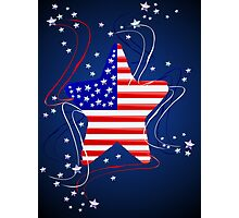 The American Star Designed Photographic Print