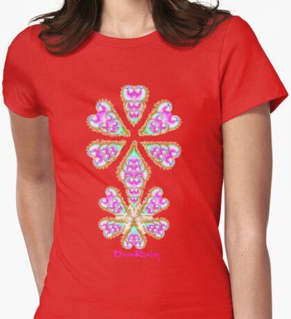 dreamreality mandala Womens Fitted T-Shirt