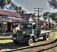 Old Tailem Town, Austin Truck by ripphotos