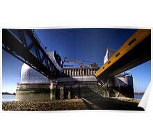 Thames Barrier 1 Poster