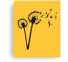 Dandylion Flight Canvas Print