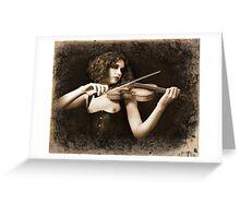 Musician Greeting Card