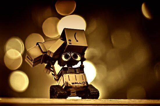 Wall-E fights back! by Joseph Timms