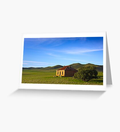 Farmhouse at Burra South Australia Greeting Card