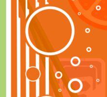 Ice and a Slice - Orange Sticker