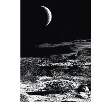 Desert Moon Photographic Print