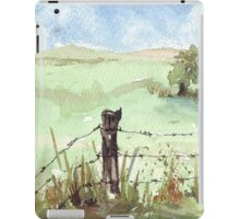 A familiar South African sight iPad Case/Skin