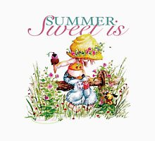 Classic: Sweet Is Summer Womens Fitted T-Shirt