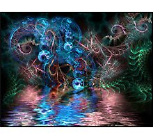 PSYCHEDELIC FOREST Photographic Print