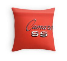 Camaro SS Emblem Throw Pillow