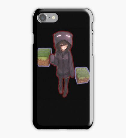 Minecraft Girl iPhone Case/Skin