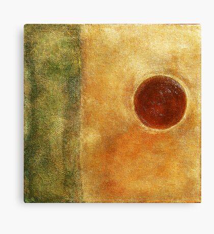 Organic Elements Series III Canvas Print