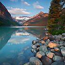 Lake Louise in Morning Light by EvaMcDermott