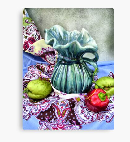 Evelyn's Pitcher Canvas Print