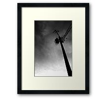 Telephone Pole Framed Print