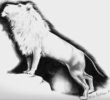 White Lion by molliekathleen