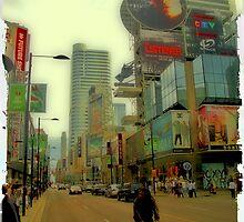yonge street by Klaudy Krbata