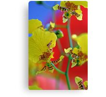 George Ramsay Orchids Canvas Print