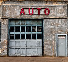 Auto Shop by Myron Watamaniuk