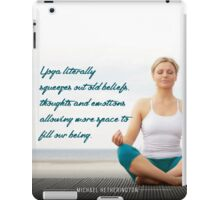 Yoga Squeezes it Out iPad Case/Skin