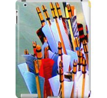 Nocking the arrows iPad Case/Skin