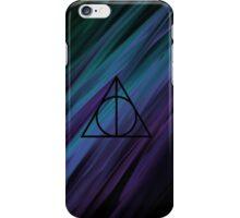 Deathly Hallows Rainbow Sludge iPhone Case/Skin