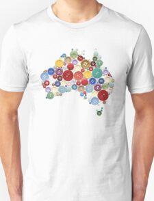 Aussie buttons T-Shirt