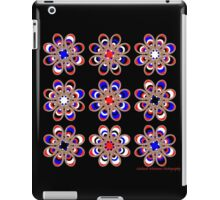 Leather Pride Foot Flowers iPad Case/Skin