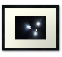 We ARe Not Alone! Framed Print