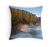 Whirlpool, Bombo Headland, NSW Throw Pillow